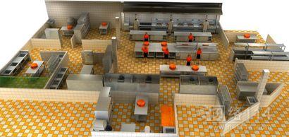 广东商用厨房设计