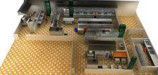 酒店效果图制作 商用厨房3D软件 商用厨房设计