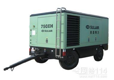 成都美国寿力750XH移动式空压机