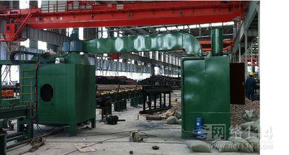上海固宇石油钢管喷涂机