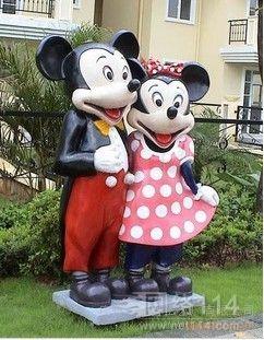 迪士尼卡通雕塑系列
