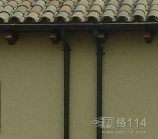 上海别墅用铝合金方形雨水管