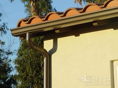 上海阳光房屋檐落水