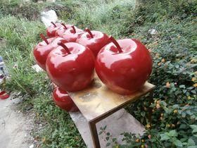 仿真食物|玻璃钢苹果雕塑|仿真苹果查看原图(点击放大)