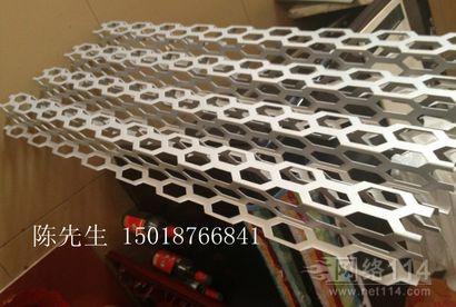 铝合金网格板吊顶天花材料 铝网板幕墙板