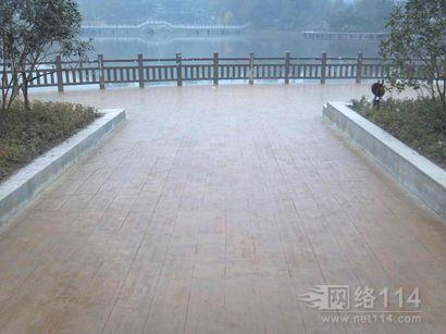 贵州彩色压模地坪