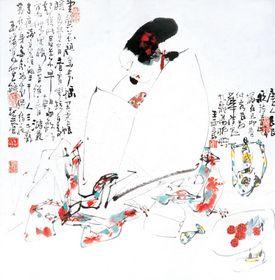 王西京对于艺术的追求重在创新,王西京作品收购查看原图(点击放大)
