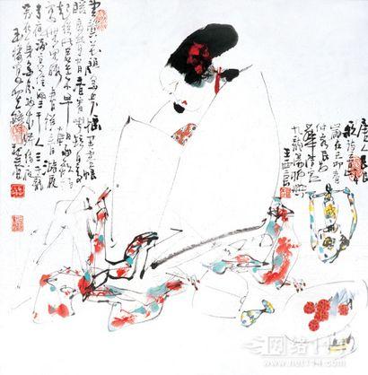 王西京对于艺术的追求重在创新,王西京作品收购