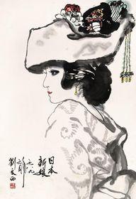 """刘文西被誉为中国""""农民""""画家大师,刘文西作品收购查看原图(点击放大)"""