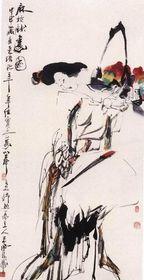 王西京作品是雅俗共赏的艺术佳作,王西京作品收购查看原图(点击放大)