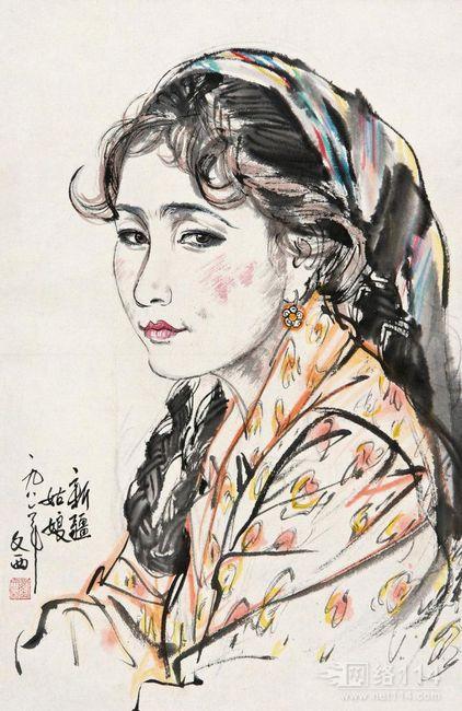 西北成就了刘文西的辉煌艺术,刘文西作品价格