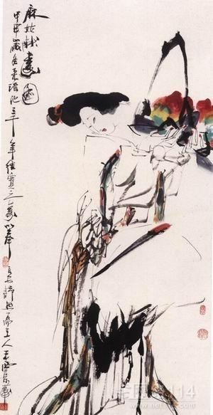 王西京作品是雅俗共赏的艺术佳作,王西京作品收购