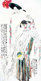 人物绘画领域的模范代表, 王西京作品价格查看原图(点击放大)