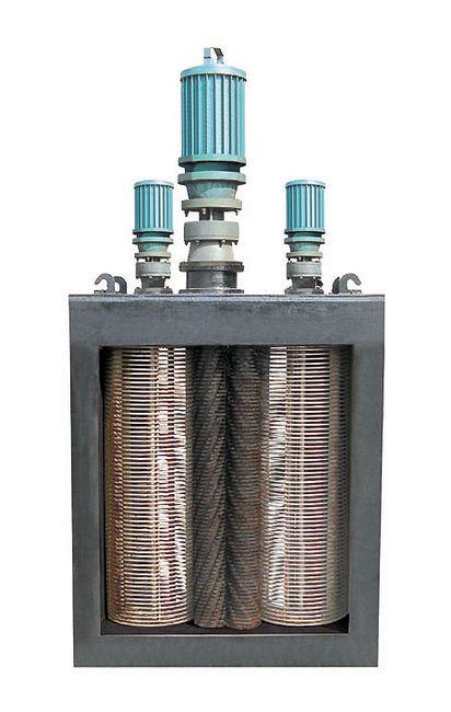 多电机转鼓式格栅破碎机是南京晨荣专利产品|出厂价格