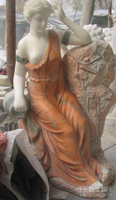 玻璃钢女人像    仿真女人雕塑    玻璃钢女人造型雕塑