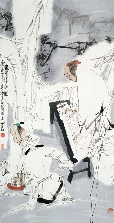 王西京作品收购引起的反响延续到不同的领域