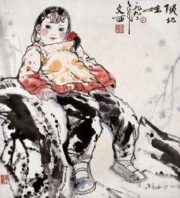综观中国书画艺术,刘文西作品收购查看原图(点击放大)