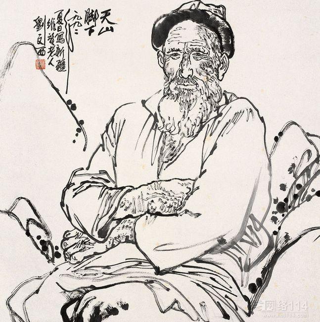 中国艺术处于传统与现代的之中,刘文西作品收购