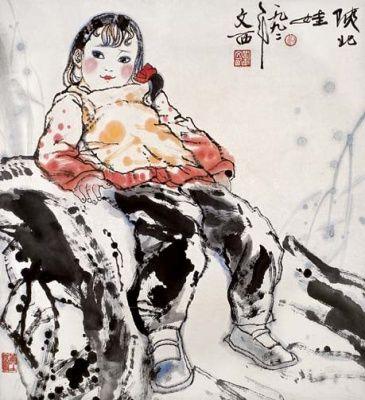 综观中国书画艺术,刘文西作品收购
