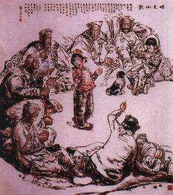 收购陕西名人字画,人才辈出的陕西查看原图(点击放大)