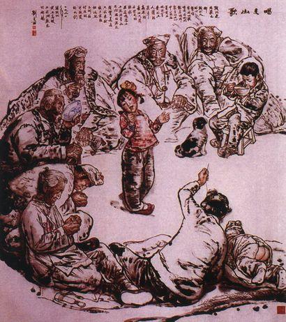 收购陕西名人字画,人才辈出的陕西