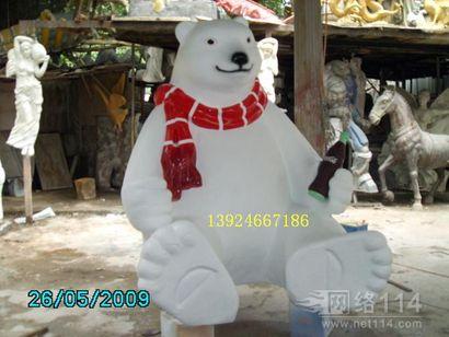 深圳卡通雕塑   玻璃钢卡通公仔雕塑