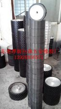 厚街巨森耐磨砂带机橡胶轮、抛光轮、铝轮、离心轮
