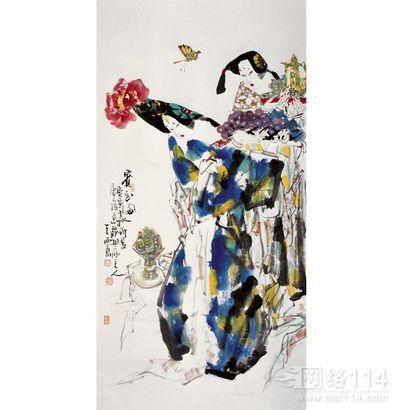 善于从王西京的画值多钱中看市场发展的动向