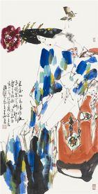 王西京作品在市场的紧俏程度比较热烈,王西京作品价格查看原图(点击放大)