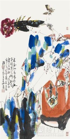 王西京作品在市场的紧俏程度比较热烈,王西京作品价格