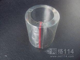 加拉线收缩膜,瓶口专用红线收缩膜,有开口处瓶口收缩膜