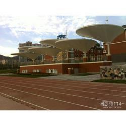 北京体育学院看台张拉膜结构