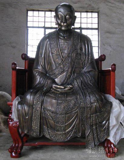 六祖铜像 广东佛山市康师傅铸造公司造