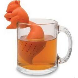定制硅胶用品硅胶泡茶器松鼠泡茶器乌龟茶漏茶叶商礼品
