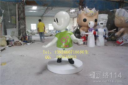 纤维卡通雕塑制作