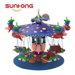 太空翱翔豪华转马飞椅,顺宏专业儿童游乐设备生产商直供
