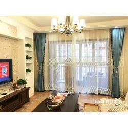 制作办公卷帘厂家定做电动窗帘别墅布艺窗帘安装维修窗帘杆