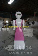 自助餐厅送餐机器人造型