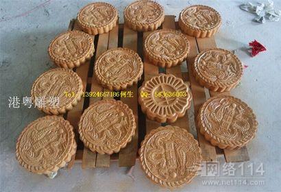 中秋大型月饼造型雕塑