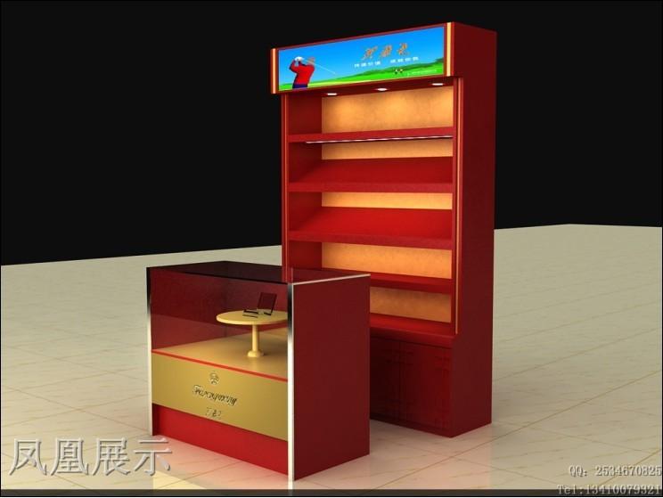 电子香烟展示柜厂家,品牌烟酒矮柜图片