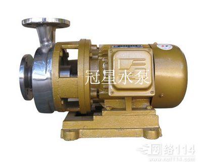 福建FB型直联卧式不锈钢耐腐蚀化工泵批发