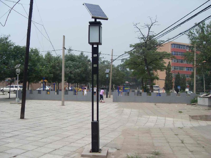 沈阳乾闻源太阳能发电led庭院路灯一体化太阳能庭院灯报价