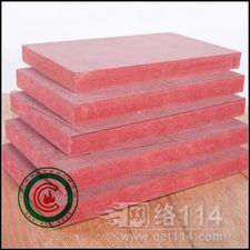 广东难燃密度板厂家,大亚红色阻燃密度板