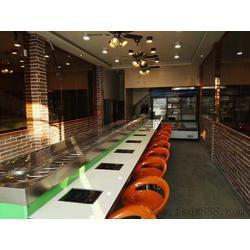 设计生产餐厅家具旋转火锅设备回转火锅自助旋转麻辣烫餐桌