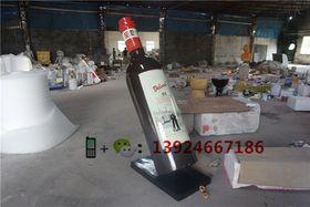 贵州户外大型仿真红酒瓶雕塑酒店摆设大型红酒瓶查看原图(点击放大)