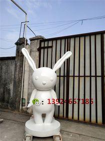纤维卡通兔子造型制作玻璃钢形象卡通兔查看原图(点击放大)