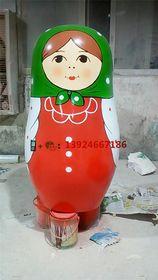 俄罗斯彩绘娃娃雕塑玻璃纤维娃娃公仔模型制作查看原图(点击放大)