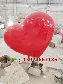 旅游区立体心形造型雕塑户外大型心形定做工厂查看原图(点击放大)