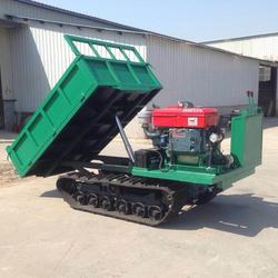 3吨农用履带车节省人力果园搬运车葡萄园采摘