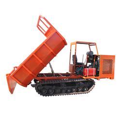 小型履带运输车雪地行走5吨果园运输车安全可靠